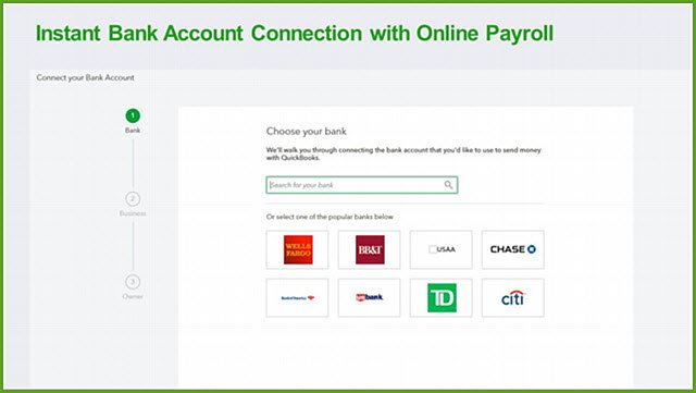 QBO Full Service Payroll Same Day Direct Deposit