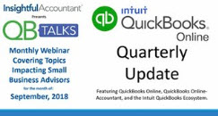 QB Talks QBO Quarterly Update