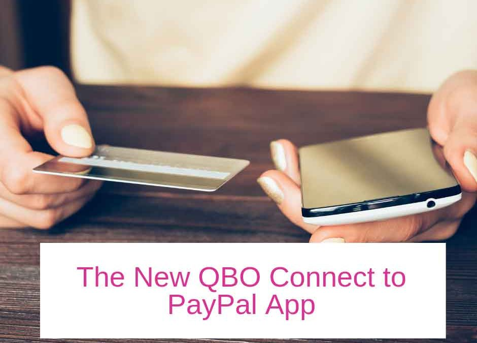 The New QBO Connect to PayPal App
