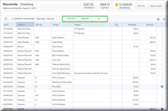 The Hot New QuickBooks Online Reconciliation