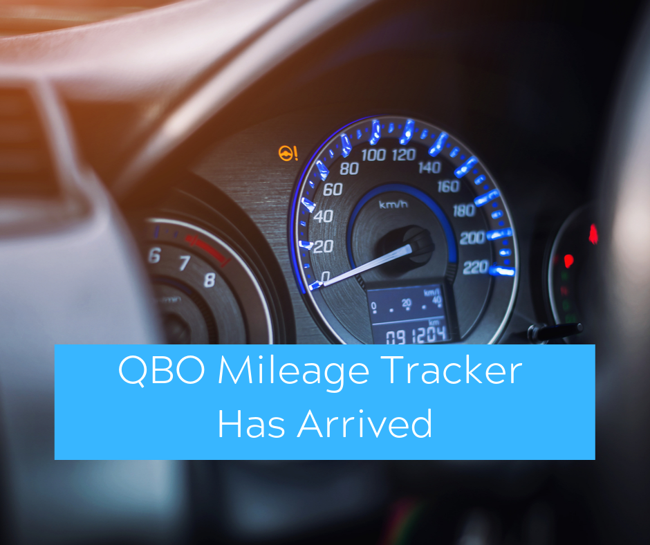 QuickBooks App Mileage Tracker Has Arrived