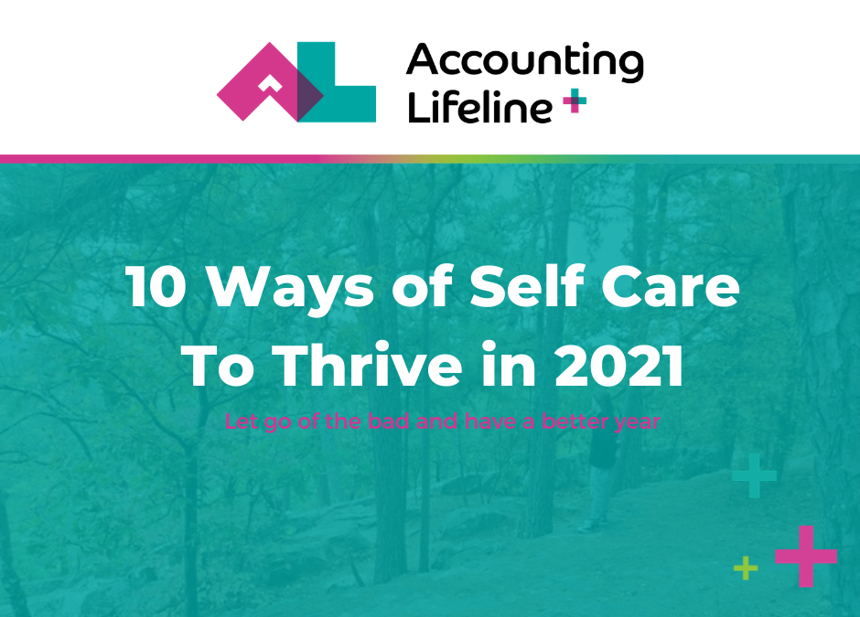 10 Ways of Self Care To Thrive in 2021