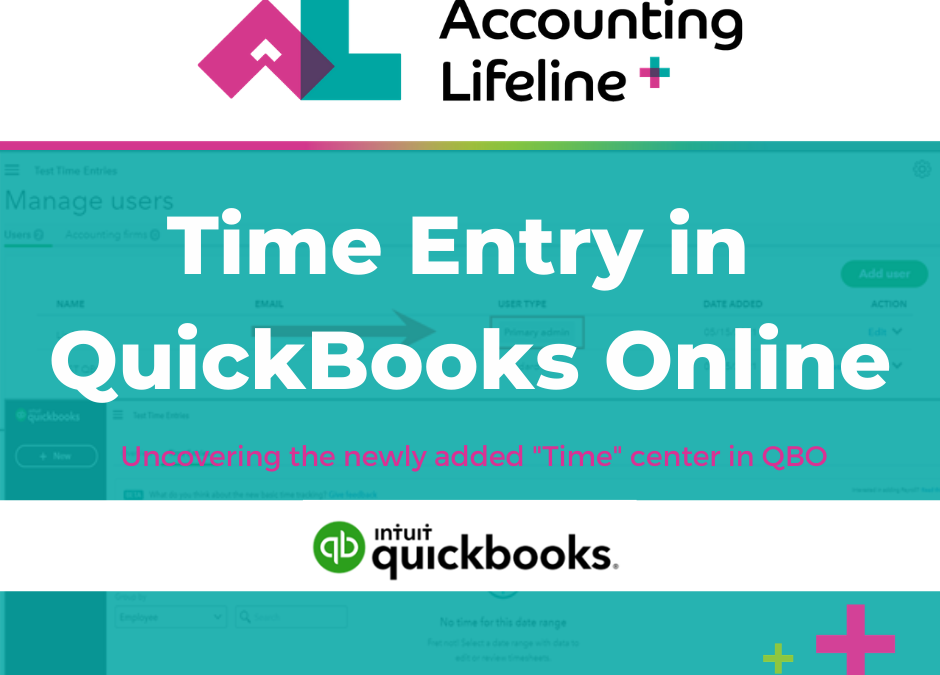 Time Entry in QuickBooks Online