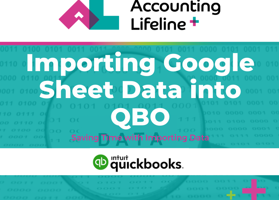 Import Google Sheets Data into QBO