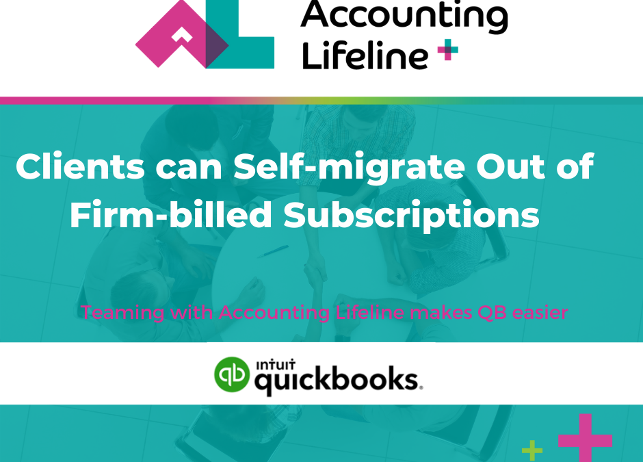 Clients can Self-migrate Out of Firm-billed Subscriptions
