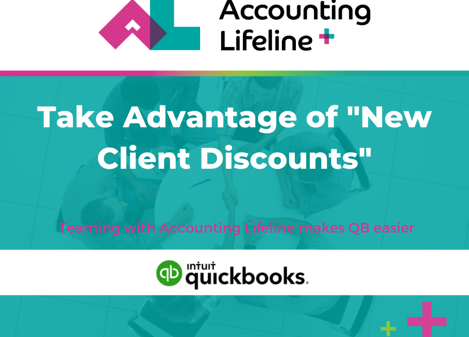"""Take Advantage of """"New Client Discounts"""""""