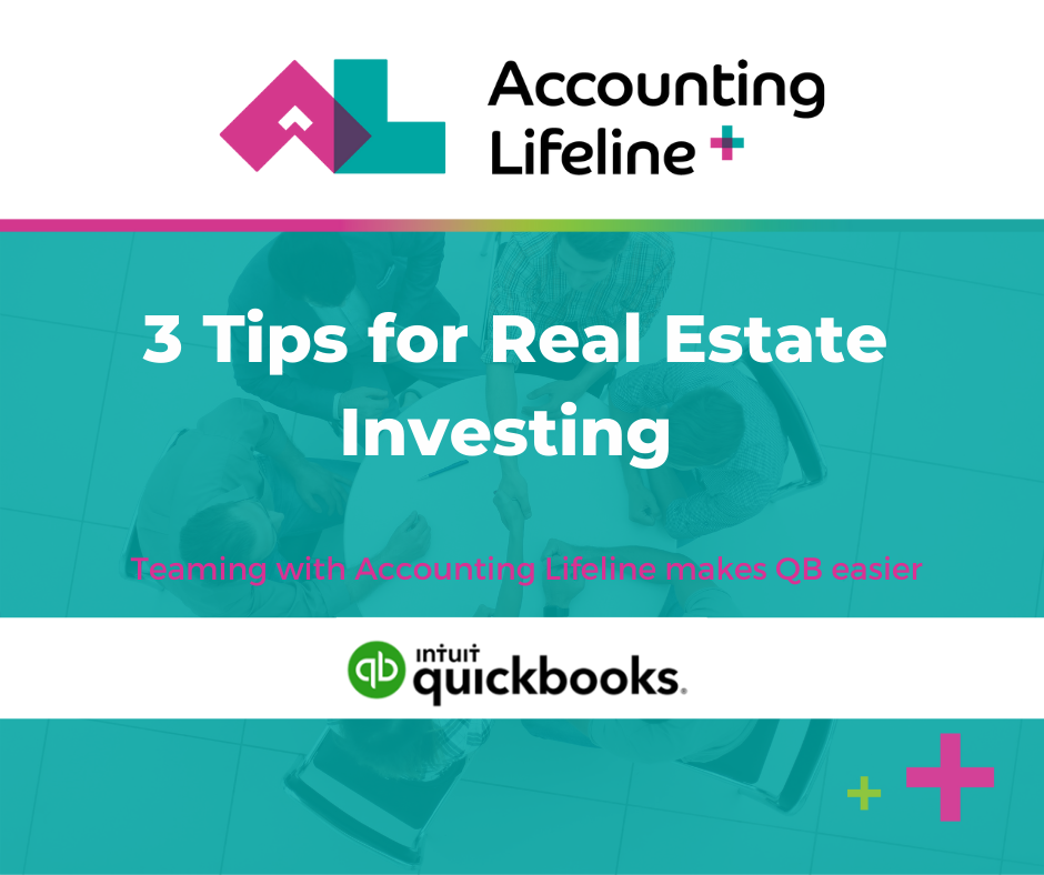 3 Tips For Real Estate Investing